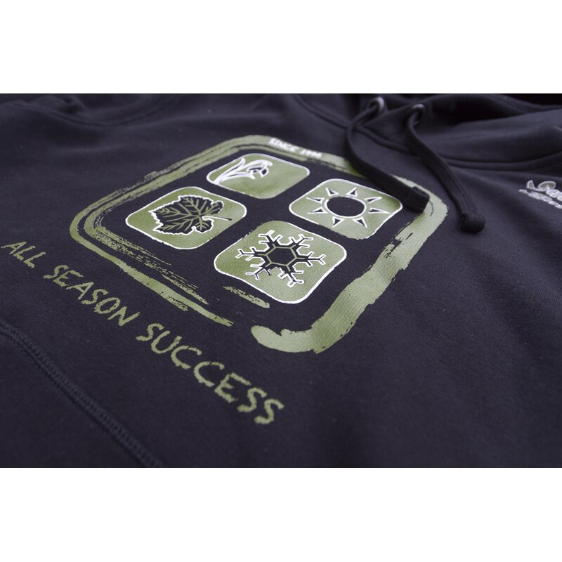Successful Baits Hoody All Season Success Black XL