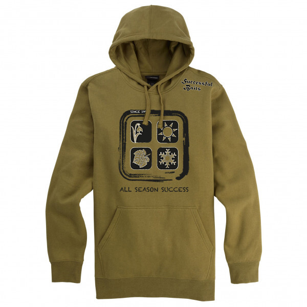 Successful Baits Hoody All Season Success Olive S