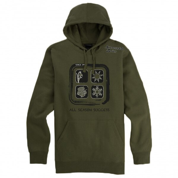 Successful Baits Hoody All Season Success Khaki L