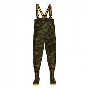 Vass 785 Series Camo Chest Wader