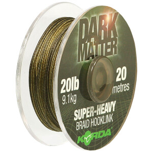 Korda Dark Matter Braid Hook Link 20lb
