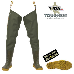 Vass E Nova Thigh Waders 44 (UK 10)