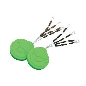 Korda Sinker Tungsten Hooklink Weights Green Medium