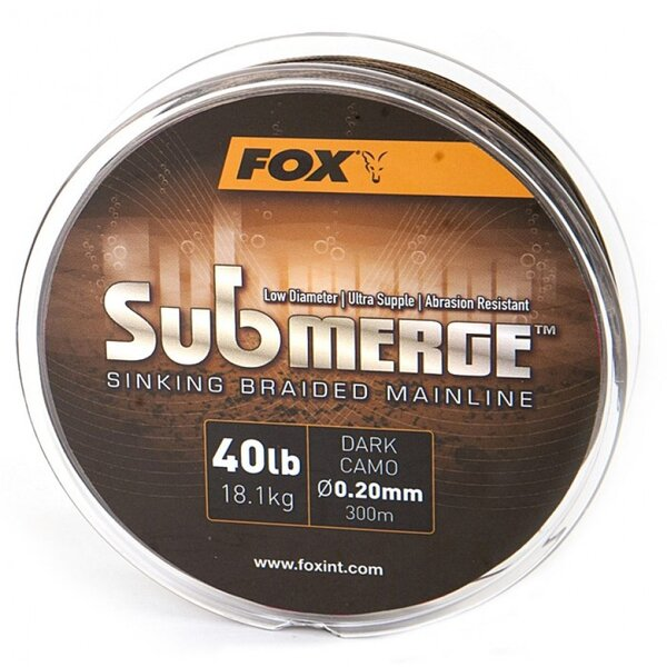 Fox Submerge Dark Camo 40lb