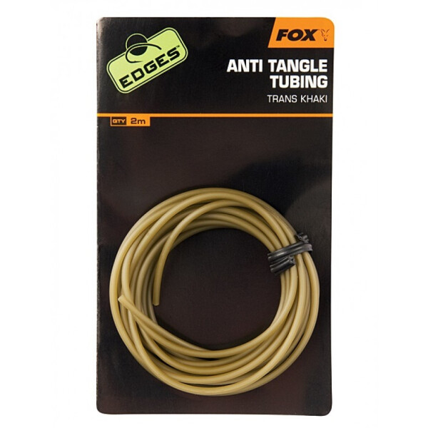 Fox Edges Anti Tangle Tube Trans Khaki
