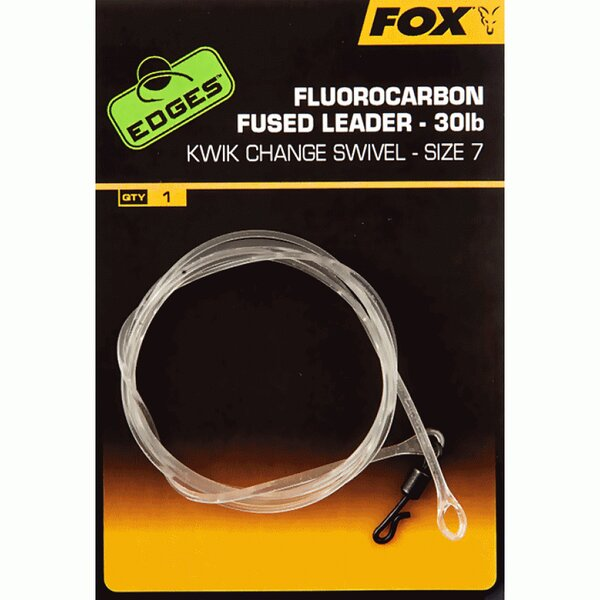 Fox Fluorocarbon Fused Leader Size 7 (75cm)