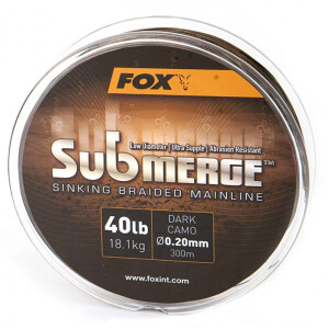 Fox Submerge Dark Camo 40lb 300m