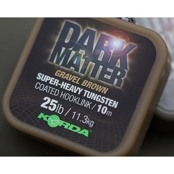 Korda Dark Matter Coated Braid Gravel 18lb