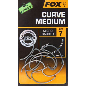 Fox Edges Curve Shank Medium 6