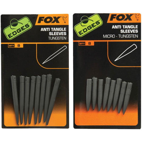Fox Edges Tungsten Anti Tangle Sleeves